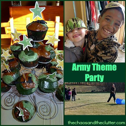 Army themed party supplies australia for Army party decoration ideas