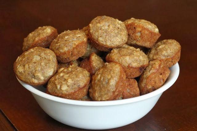 Oat Applesauce Muffins Recipe — Dishmaps
