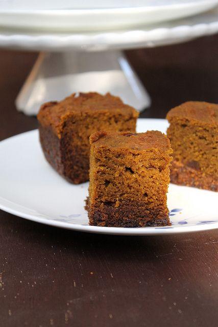 Pumpkin Gingerbread Squares   Vegan Recipes   Pinterest
