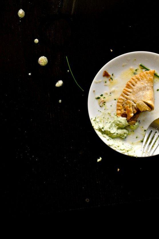 Spicy Empanadas with Cilantro Cream | Not Without Salt