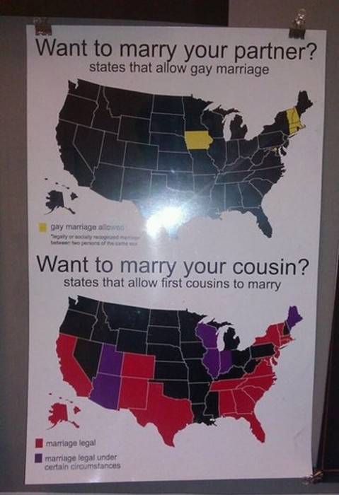 TOTALLY UNACCEPTABLE! Bucket list: witness gay marriage legalized nationally.