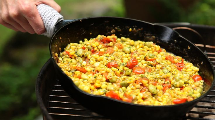 flounder with tomatoes buttered skillet corn skillet corn on the cob ...