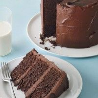 Chocolate Stout Layer Cake With Chocolate Frosting Recipe ...