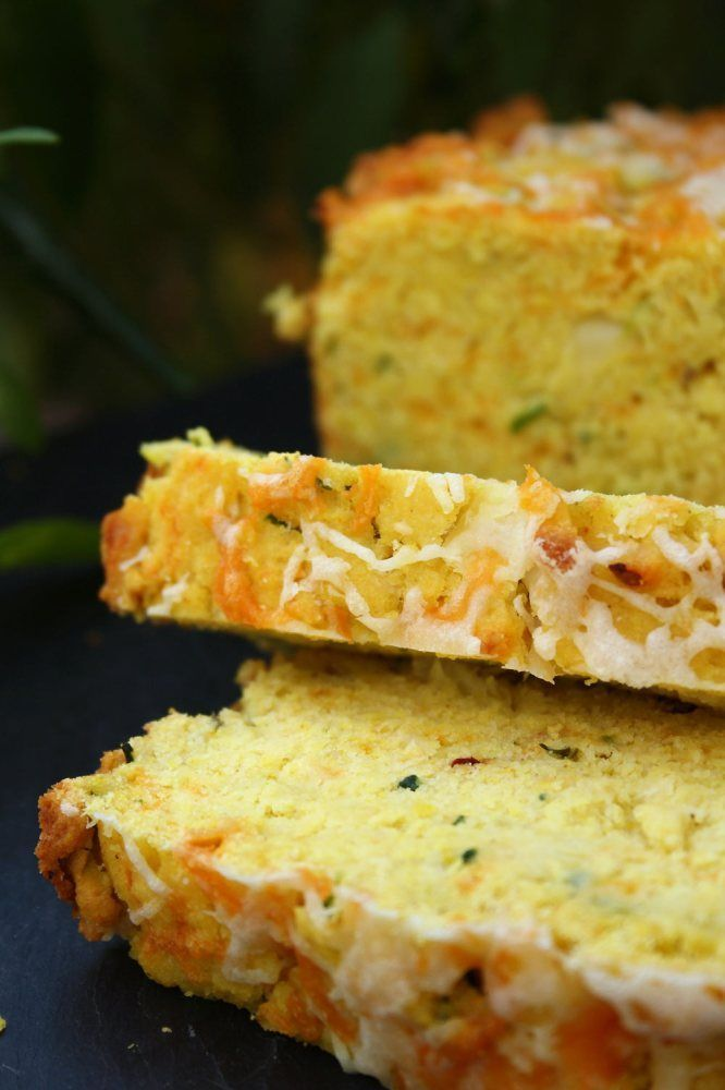Zucchini Green Chilli Cornbread | Foods! | Pinterest