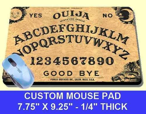 Vintage Ouija Board Game Classic Funny Mousepad Mouse Pad Mat New Free