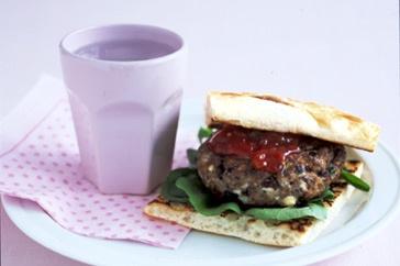 Mediterranean lamb burgers | Fooood | Pinterest