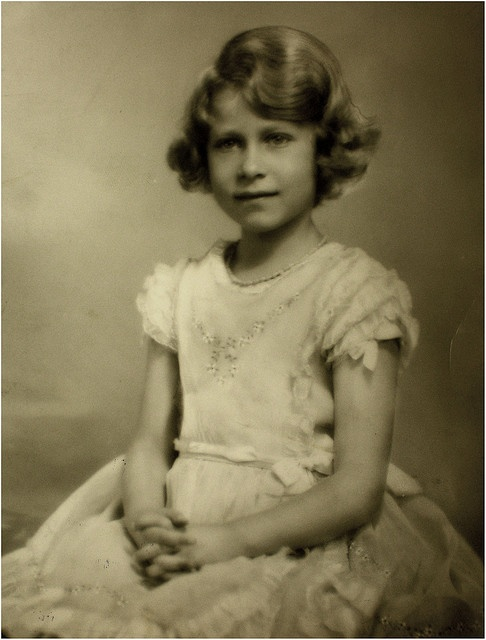 Princess Elizabeth of York 1934 (now Queen Elizabeth II).
