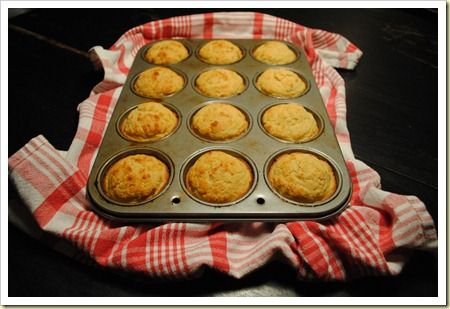 Whole wheat corn muffins with maple butter