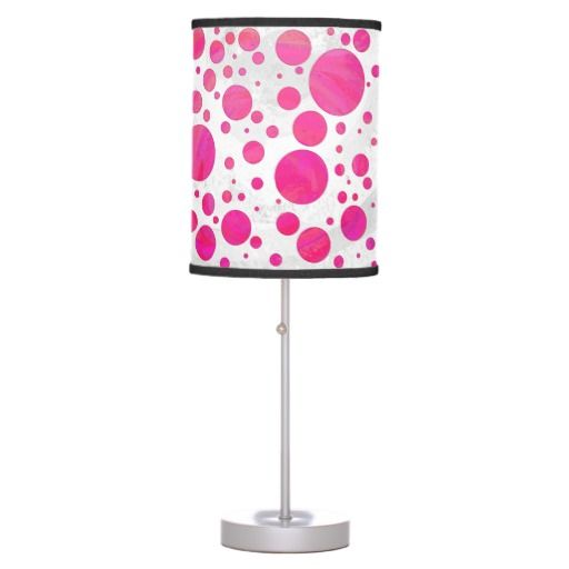Passion Table Lamp : Pink Passion Table Lamp