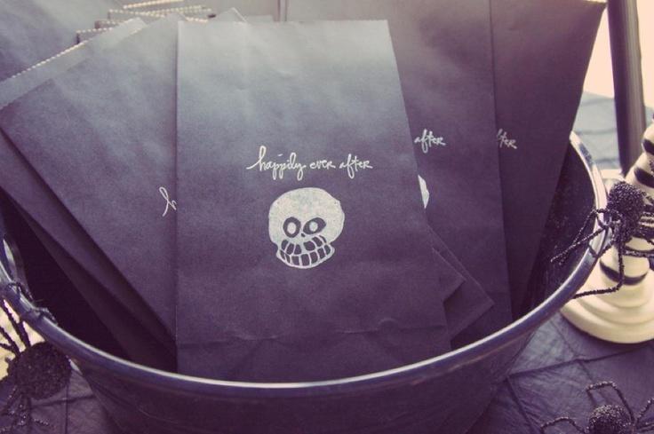 handmade candy favor bags,