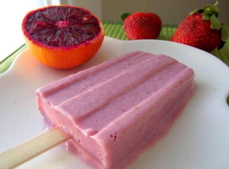 Strawberry-Blood Orange Creamsicles from Poor Girl Eats Well. http://punchfork.com/recipe/Strawberry-Blood-Orange-Creamsicles-Poor-Girl-Eats-Well