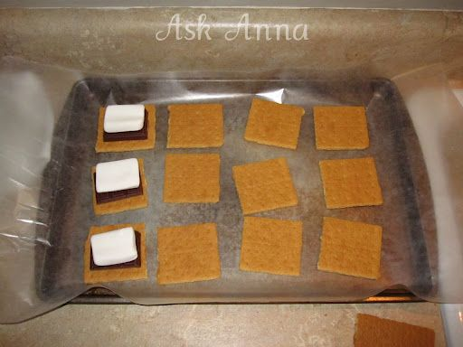 Chocolate Covered S'mores - Ask Anna | Sweet treats | Pinterest