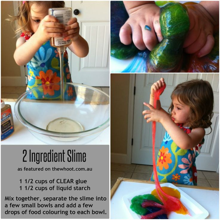how to make slime with homemade ingredients