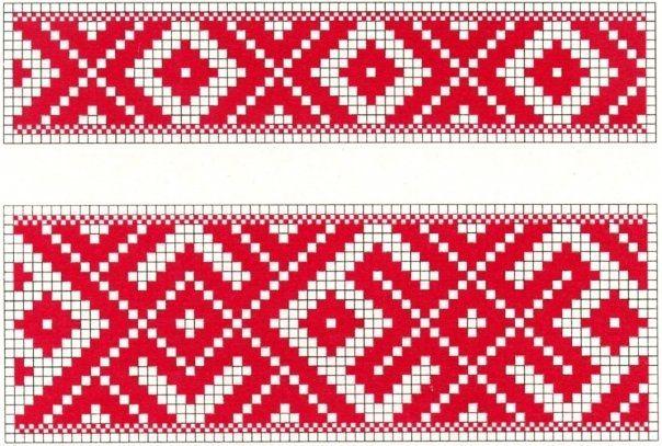 Орнаменты русской вышивки 58
