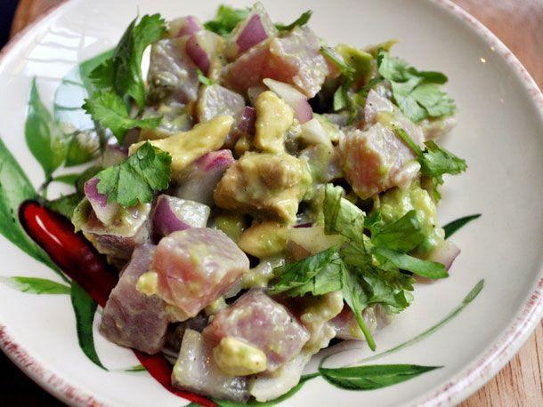 Tuna Avocado Tartare - no cooking - (sushi grade yellow fin tuna ...
