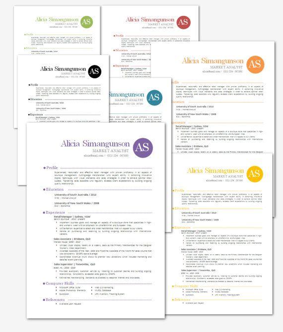 modern microsoft word resume template alicia simangunson resume t