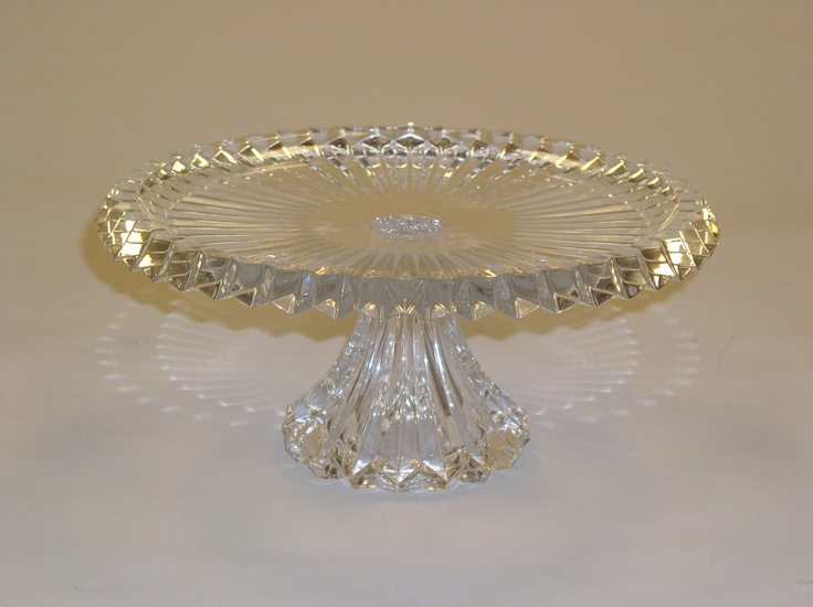 Crystal Cake Stand. . . Cakes By Graham, More Than Just the Icing on the Cake.  http://richmondcakes.com/