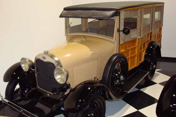 1929 Ford Model A Woody Station Wagon | Rides | Pinterest
