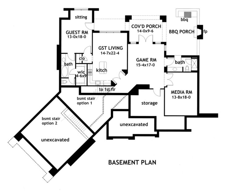 Floor plan for the one retirement house dreams Basement in law suite floor plans