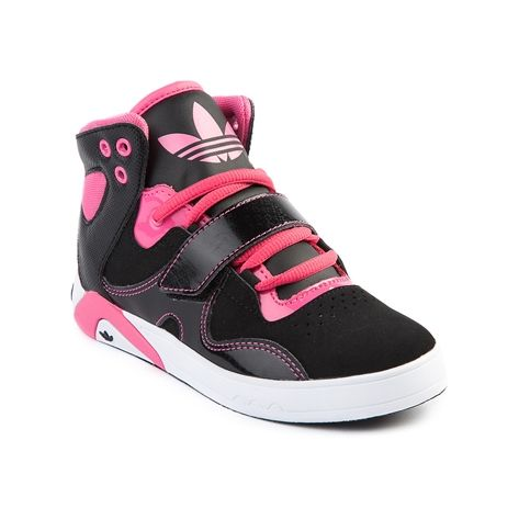 Shop for Youth adidas Roundhouse Athletic Shoe in Black Pink at