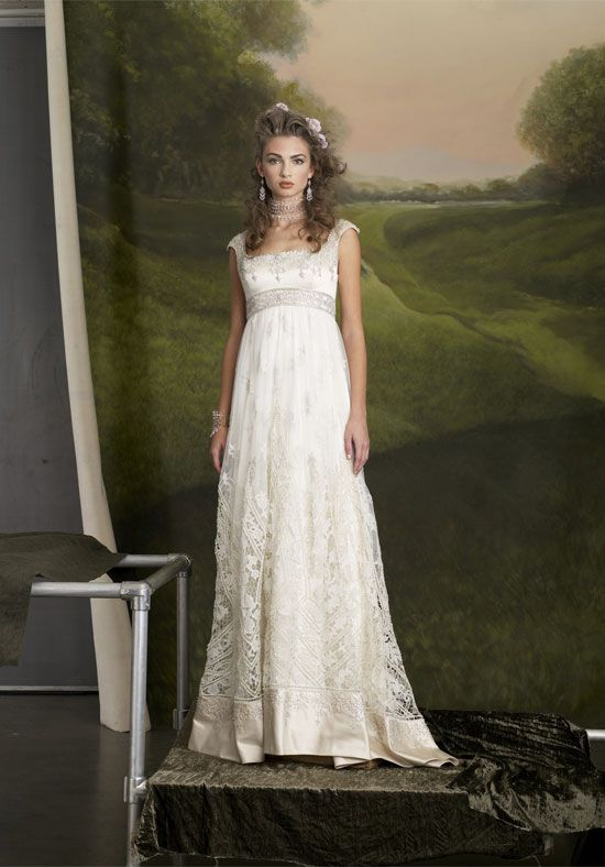 regency style wedding dress love my non exsistent