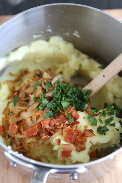 ... mashed sweet potatoes with caramelized onions brie and sage recipe