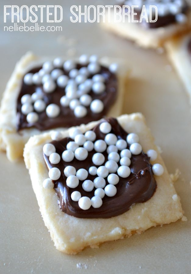 Frost a classic homemade shortbread cookie to elevate it to a ...