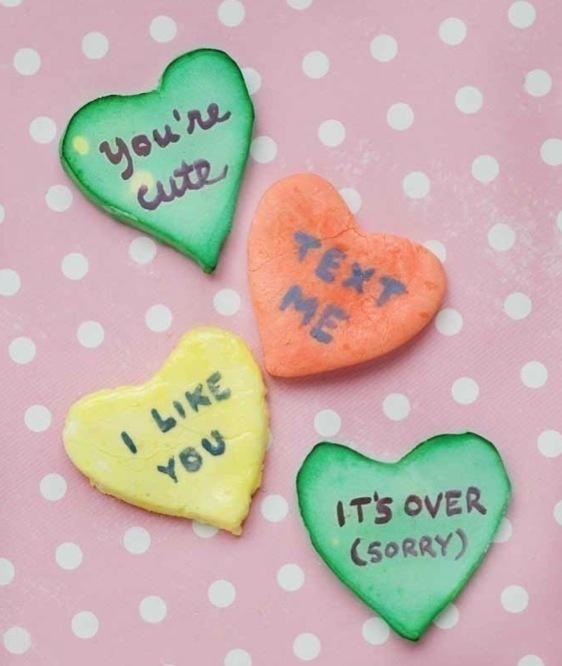 Homemade Conversation Hearts | Recipe