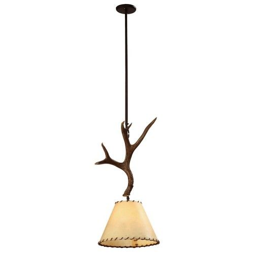 mule deer antler pendant light large staircase ideas pinterest. Black Bedroom Furniture Sets. Home Design Ideas