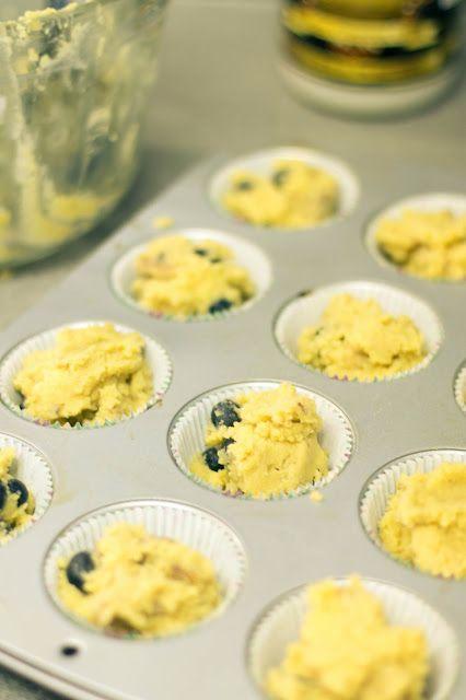 Blueberry, Walnut Muffins, baking, blueberry, coconut flour, coconut ...