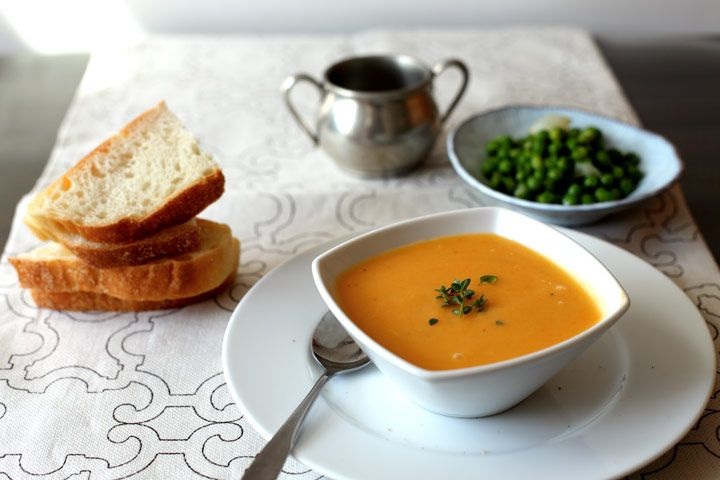 butternut squash and apple soup   food   Pinterest