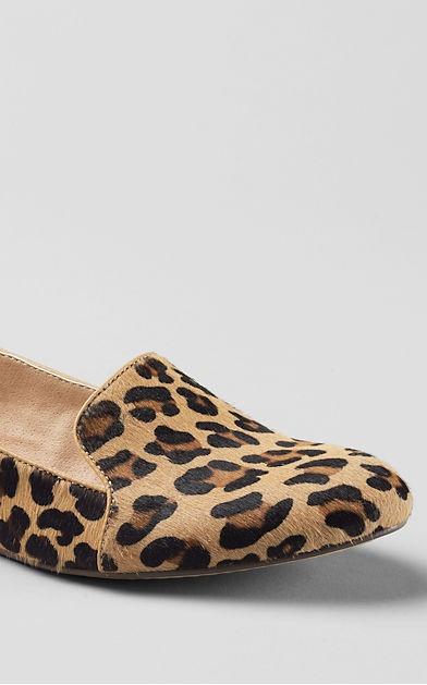Women s Vivian Calf Hair Venetian Flat Shoes from Lands | My Sty