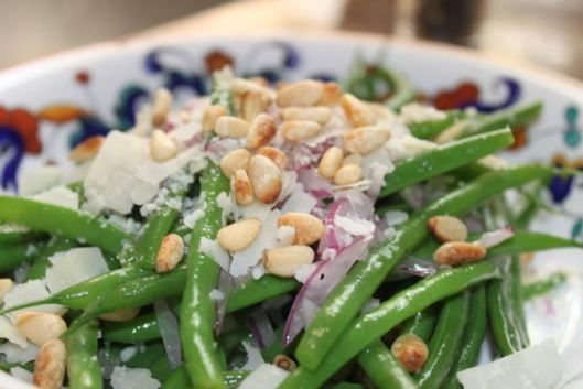 Crisp Haricots Verts With Pine Nuts Recipes — Dishmaps