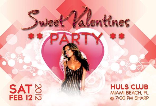 free flyer valentine's day