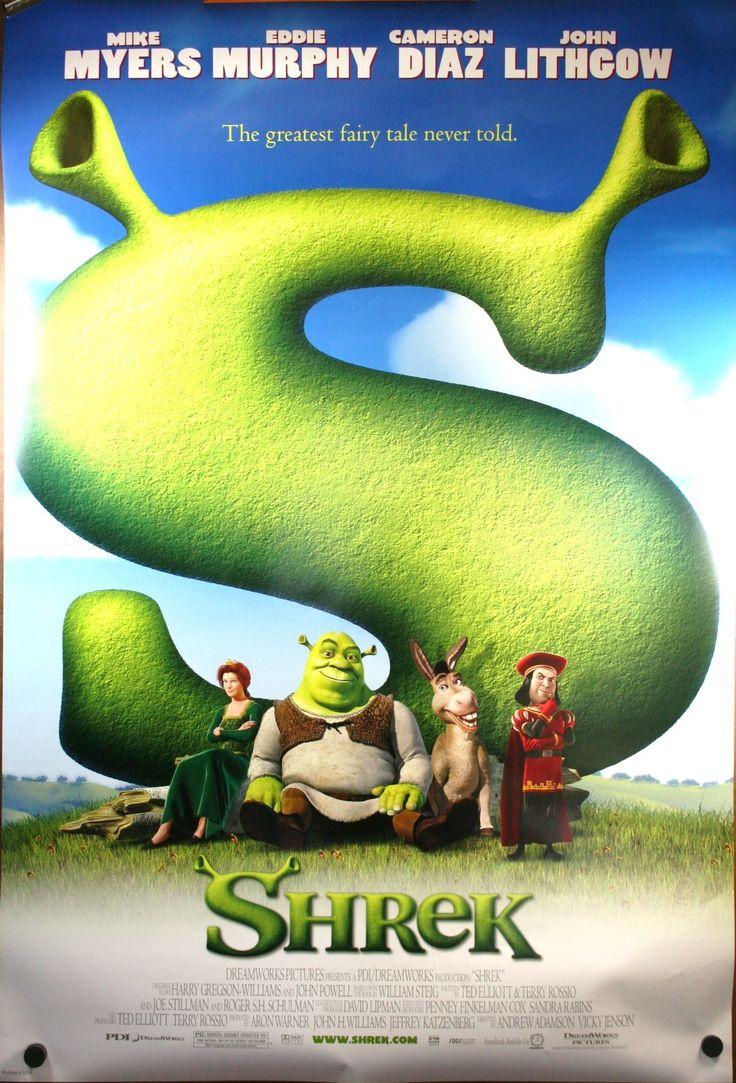 shrek 2001 good movies pinterest