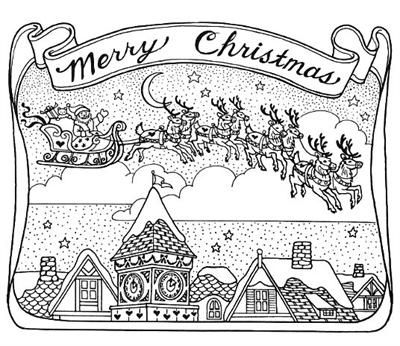 Merry Christmas Colouring Page Quot Noyeux Jo 235 L Quot D 233 Co Merry Coloring Pages For Adults