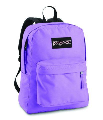 Jansport Black Label Superbreak Backpack Penelope Purple