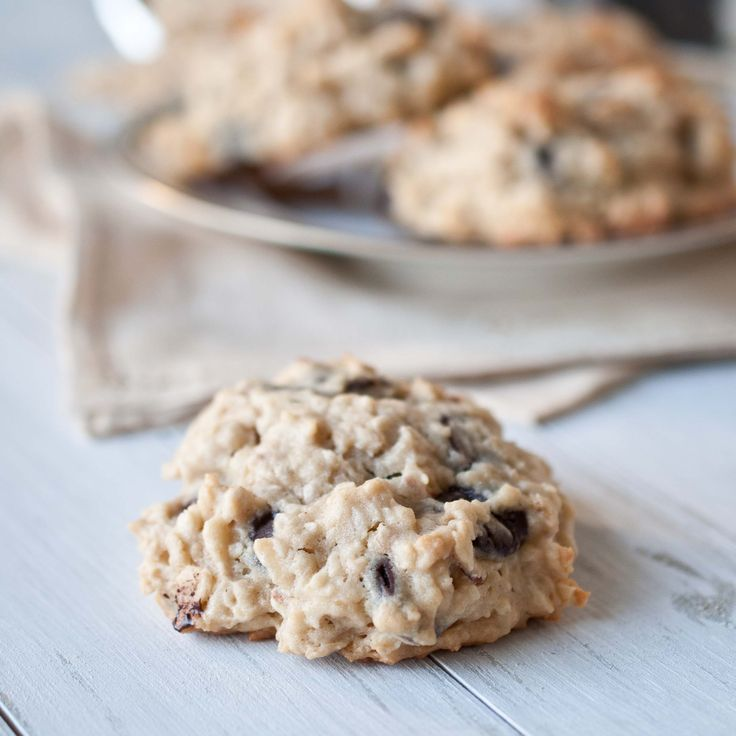 All of my favorite things - Coconut Chocolate Chip Oatmeal Cookies