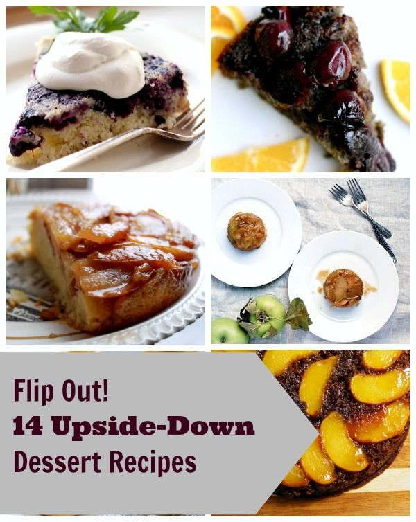 Flip Out! 14 Upside-Down Cake Recipes (Plus Donuts, Bars & More!)