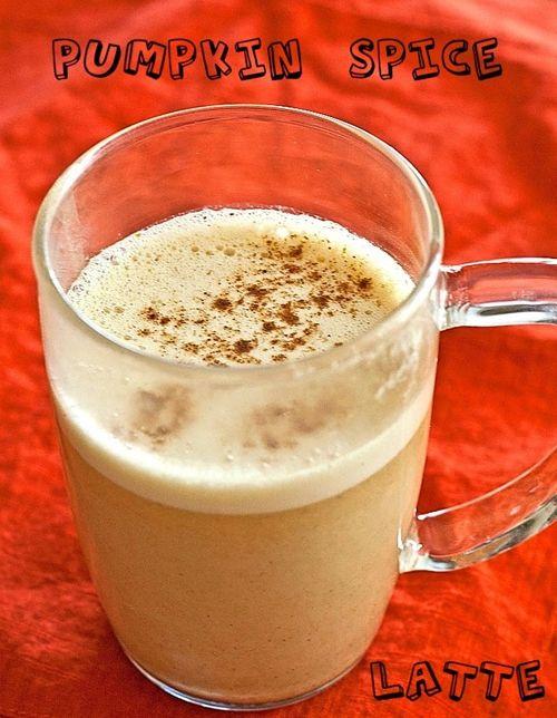 Pumpkin Spice Latte | Get in MY BELLY! | Pinterest