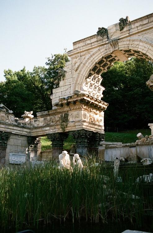 Schonbrunn Garden/Palace, Vienna, Austria