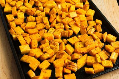 Roasted Butternut Squash With Moroccan Spices Recipe — Dishmaps