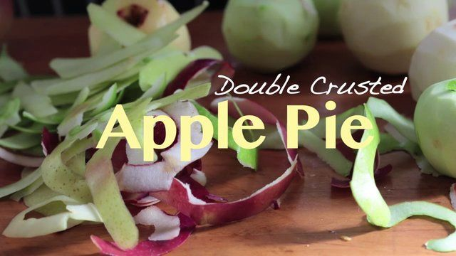 double crusted Apple Pie | grow a chef | Pinterest