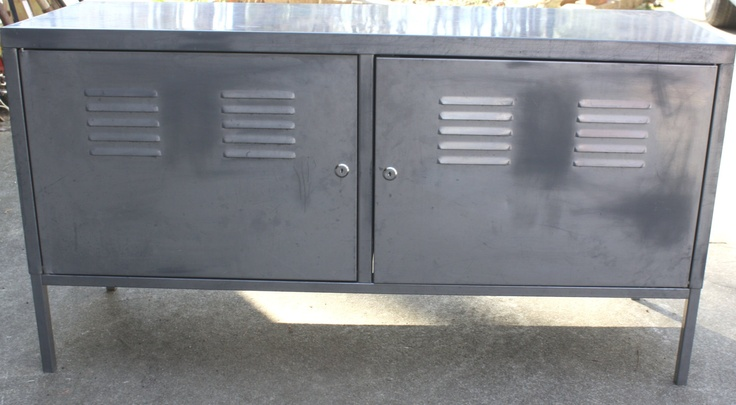 Industrial Furniture Retro Locker Credenza Great Storage