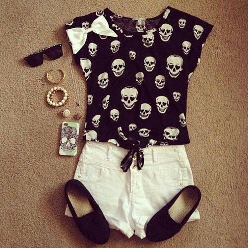 DARK STYLE FASHION OUTFIT