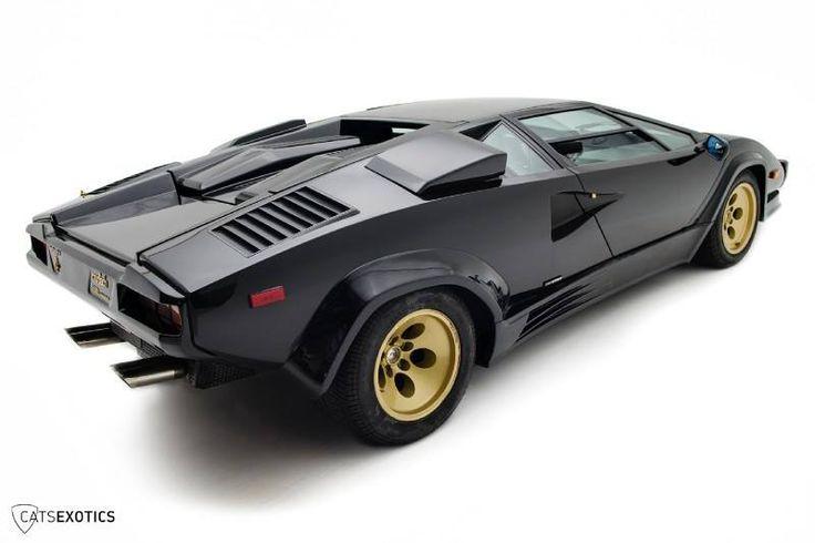 1987 Lamborghini Countach 5000 Qv World Of Iron