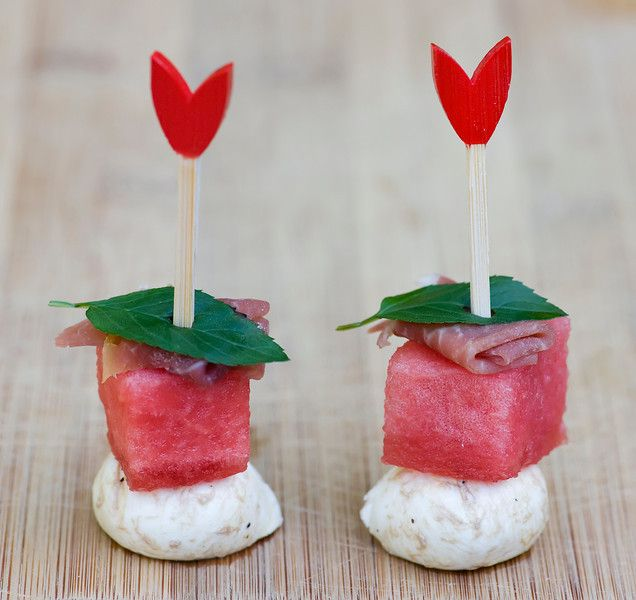 Watermelon and Cheese Bites...hello, perfect summer nibble!