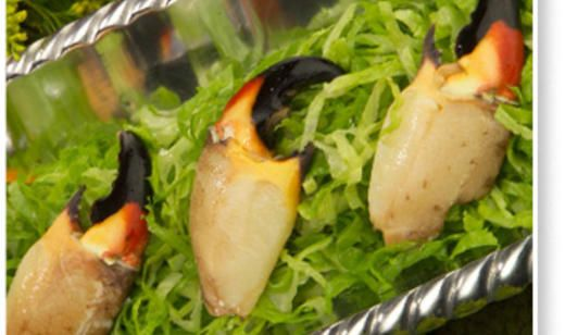 Stone Crab Claws with Spicy Golden Mustard Sauce | Crab Recipes ...