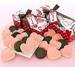 Cheryl's Valentine Cookie Box!