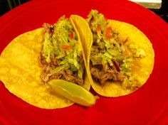 Citrus Pulled Pork Tacos | My Foodie Passion | Pinterest